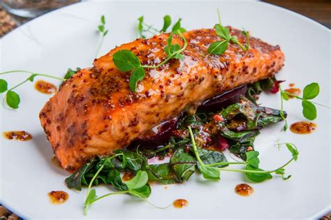 maple miso dijon salmon keeprecipes  universal