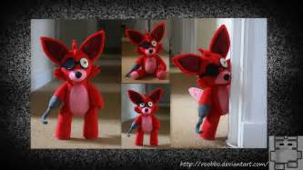 Five nights at freddy s foxy plush by roobbo on deviantart