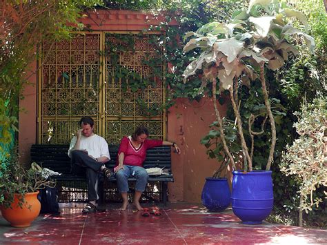 garten yves laurent marrakech marrakech the majorelle garden the city