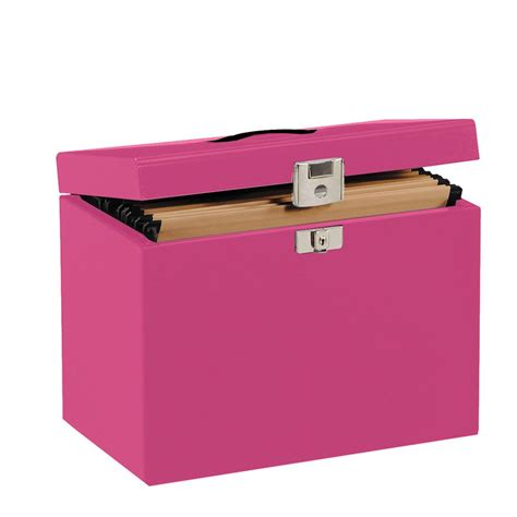 Box File Box File Book File a4 metal file box pink staples 174