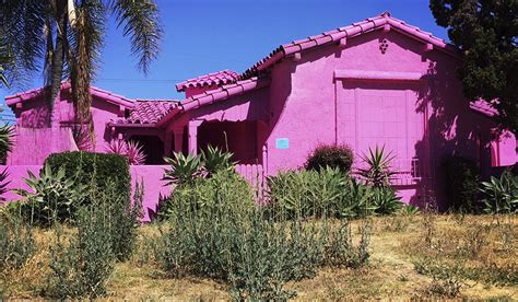 Pink Houses Warm Pink Noses by Pink Houses Cause A Stir In La