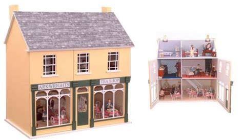 dolls house shop dolls houses shops arkwrights shop kit dolls house parade for dolls houses