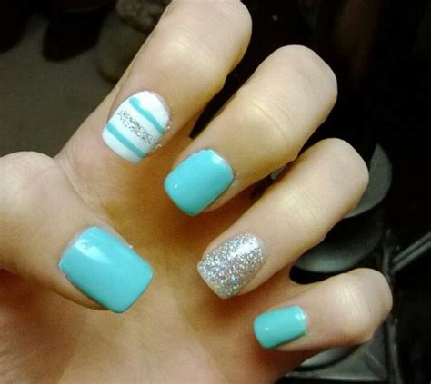 tiffany blue office on pinterest pedicure salon ideas cute tiffany blue nails nails pinterest tiffany blue