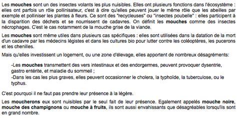 D Ou Viennent Les Moucherons by Produit Contre Moucherons Ziloo Fr