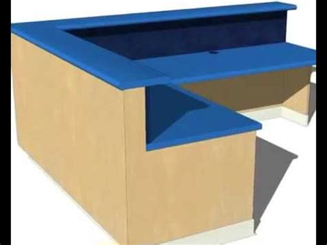 How To Make A Reception Desk Build A Reception Desk