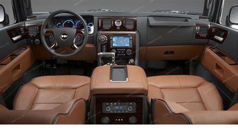 Hummer Interior by Hummer H2 2003 2007 Interior Dash Kit Optional Logo