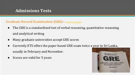 Mba Colleges Accepting Gre Scores by Mba Programs That Accept The Gre Test For Test Takers