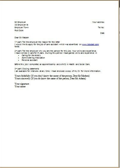 covering letter format for cv cv cover letter jvwithmenow