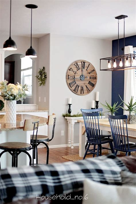 navy home decor new 30 modern farmhouse living room decorating design of