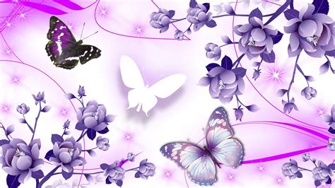 Butterfly P pink and purple butterfly abstract hdwallpaper of