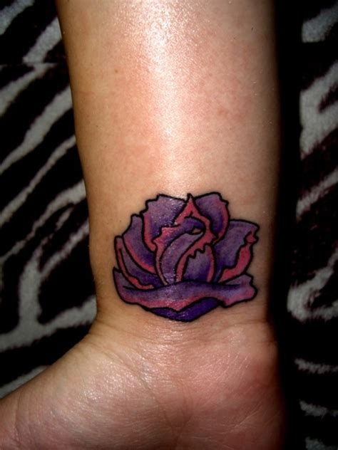 pink and purple rose tattoo tattoos page 27
