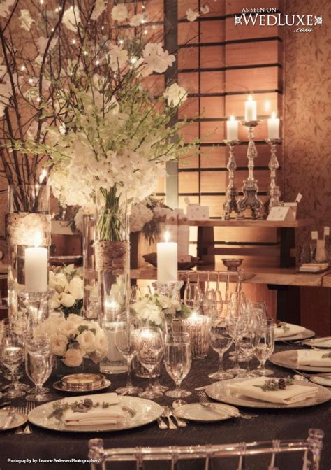 352 Best Winter Wedding Ideas Images On Pinterest Snowflake Centerpieces Wedding Receptions