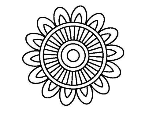 imagenes de mandalas con venecitas disegno di mandala solare da colorare acolore com