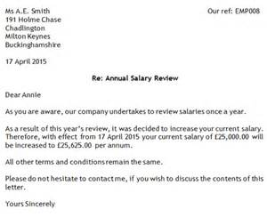 salary review template doc 12811656 salary review letter template salary