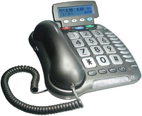 phones for hearing impaired clearsounds 40xlc lified freedom phone with caller id for the hearing impaired lified