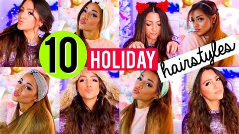diy hairstyles niki and gabi 10 quick and easy hairstyles for the holidays niki and