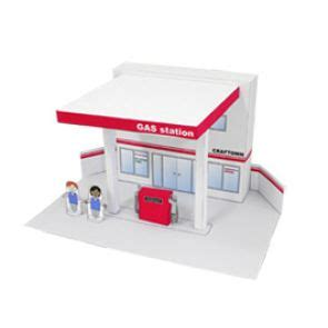Diy Papercraft Craftown Komidi Putar image result for http cp c ij en contents 2028 03436 images gas station thl jpg