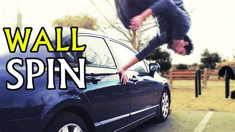 tutorial wall spin wall spin palm spin parkour stunt tutorial youtube