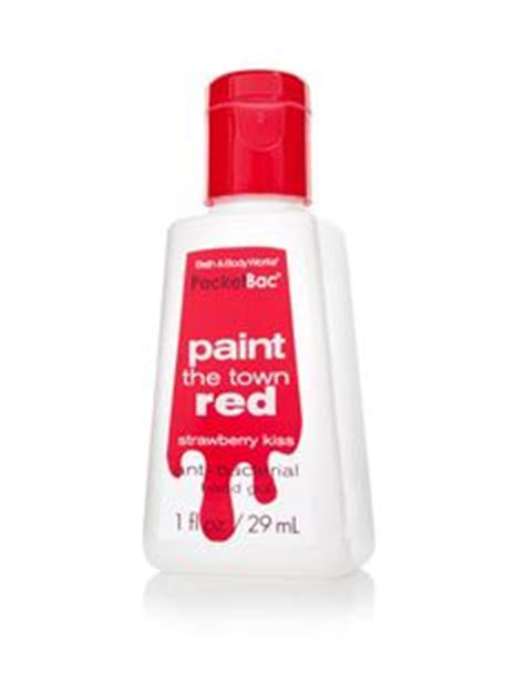 red bacteria in bathroom paint the town red