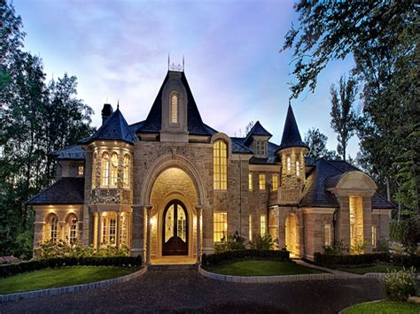 Chateau Style House Plans by Luxury Castles Homes House Plans Big Beautiful Castle