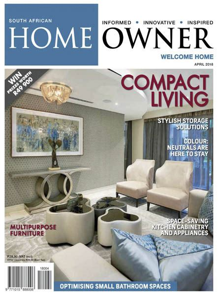 home design magazines south africa south african home owner 04 2018 187 download pdf
