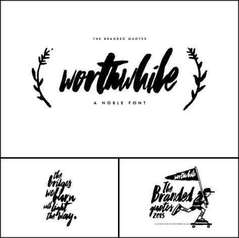 worthwhile font dafontcom