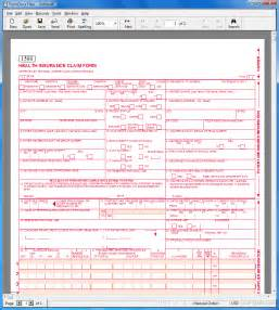 1500 claim form template cms 1500 free