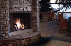Wood Burning Fireplace Calgary by Outdoor Fireplace Sales And Installations In Calgary