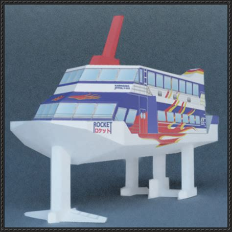 Paper Craft Square - papercraftsquare new paper craft high speed ferry