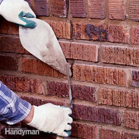 How To Repair Fireplace Mortar by How To Repair Mortar Joints The Family Handyman