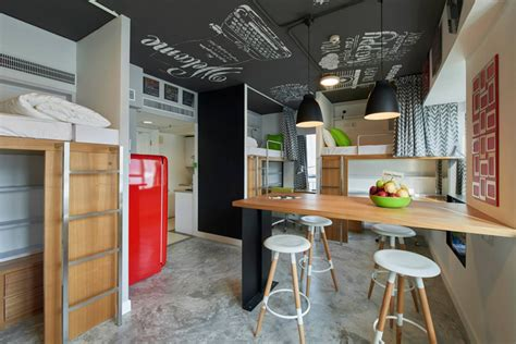 student apartment complex revitalizes space efficiency