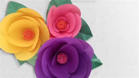 How To Make An Easy Flower Out Of Paper - how to make a paper flower easy guide