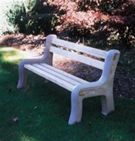 plastic park bench ends dan s saddlery professional stable equipment