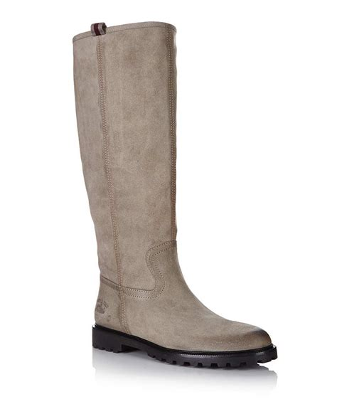 gucci beige suede knee high boots designer footwear sale