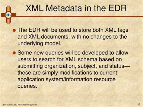 xml metadata tutorial ppt tutorial on xml tag and schema registration in an