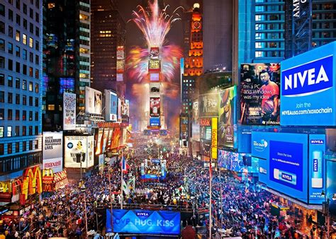 live new years live new year s in times square