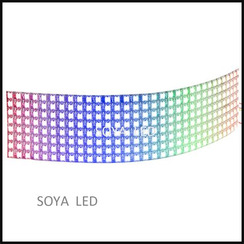 Led Matrix P10 apa102 p10 8x32 pcb for led matrix display buy