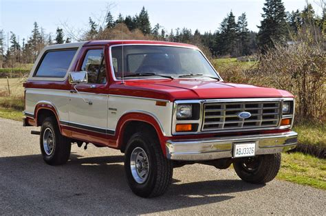 1982 Ford Bronco by All American Classic Cars 1982 Ford Bronco Xlt Lariat 4x4