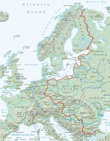 how is the iron curtain a dividing line europe turns iron curtain into bike path good news network