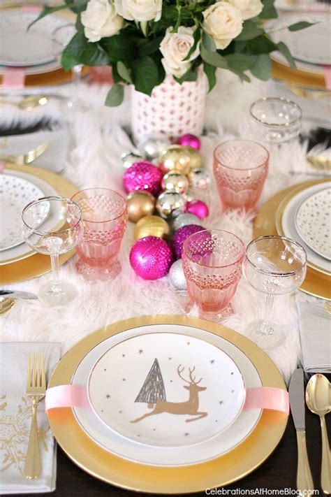 pink table settings white pink table setting celebrations at home