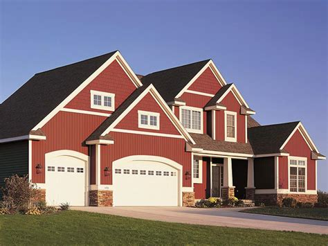 red house top 6 exterior siding options hgtv
