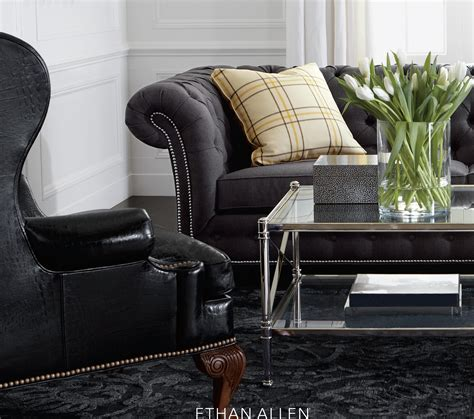 ethan allen upholstery ethan allan will provide furniture for hgtv s dream home