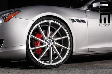 maserati quattroporte wheels gray metallic maserati quattroporte s q4 shows off custom