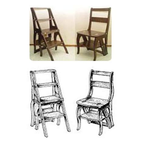 Library Chair Plans by Library Chair Step Stool Plans Woodworking Projects Plans