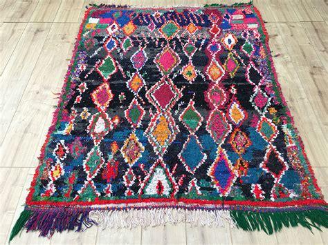 marrakech rugs east unique vintage moroccan rug tapis berbere boucherouite 170x137cm a 044