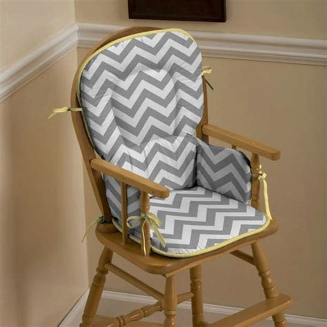 zig zag pattern chair gray and yellow zig zag high chair pad rocking chairs