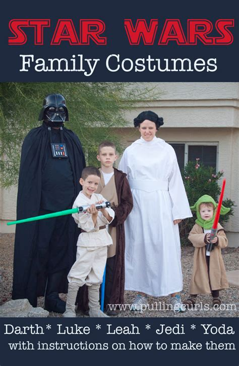 Family Wars by Wars Family Costumes May The Be With All Of You