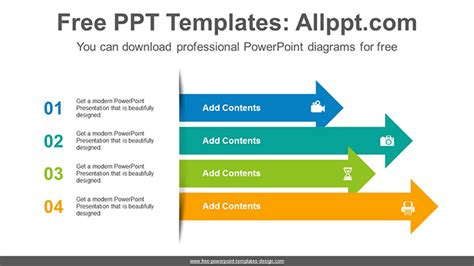 stacked diagrams for powerpoint stacked arrows powerpoint diagram template