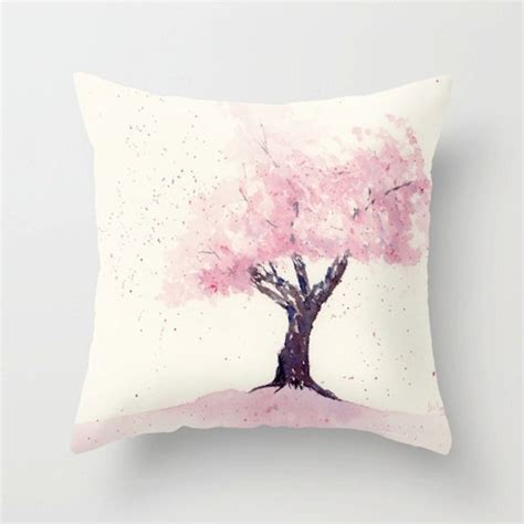 Sarung Bantal Cushion Cover Watercolor Talk 32 best images about cherry blossom on birds festivals and white cherry blossom