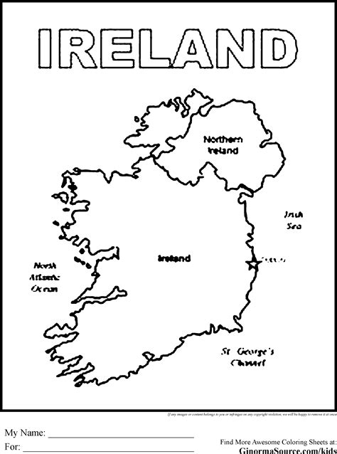 uk map coloring page ireland coloring pages ireland pinterest ireland and